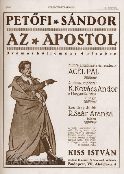 """Képtalálat a következőre: """"PETŐFI SÁNDOR AZ APOSTOL"""""""